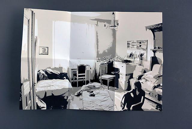 nouvelles texte photo sauveur pauline résidence d'auteure Chaumont impression riso