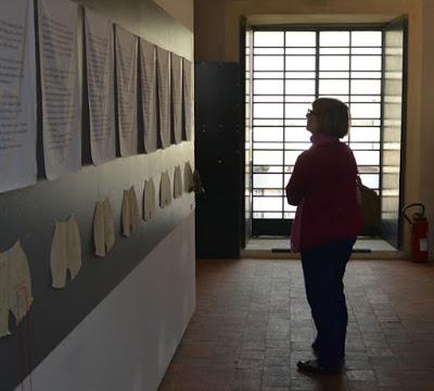 auteure sauveur pauline la Charité sur Loire Bruissement intimes expo installation