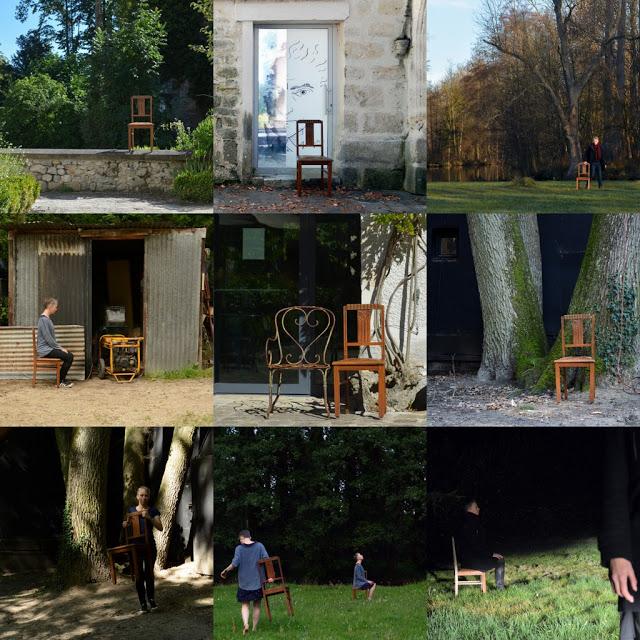 remue.net Essonne résidence auteure pauline sauveur photo chaise