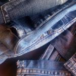 Du jean sous les mains